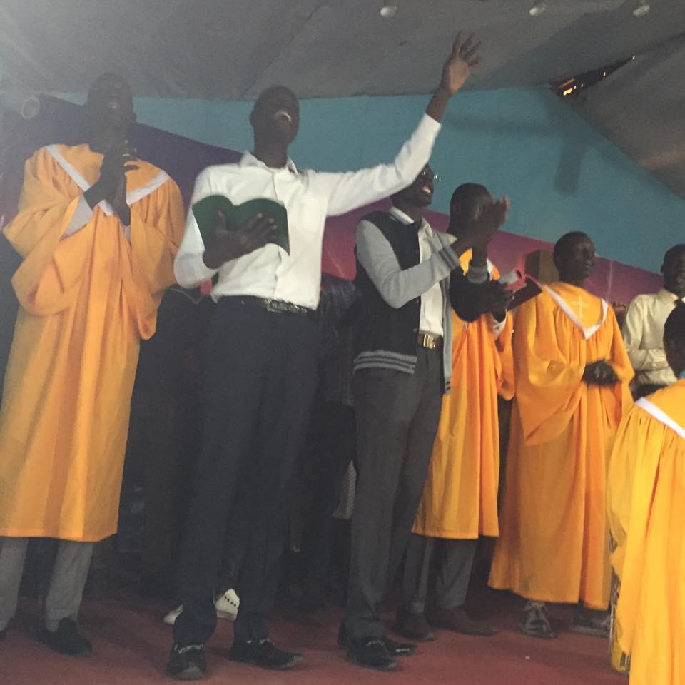 Robes on Choir